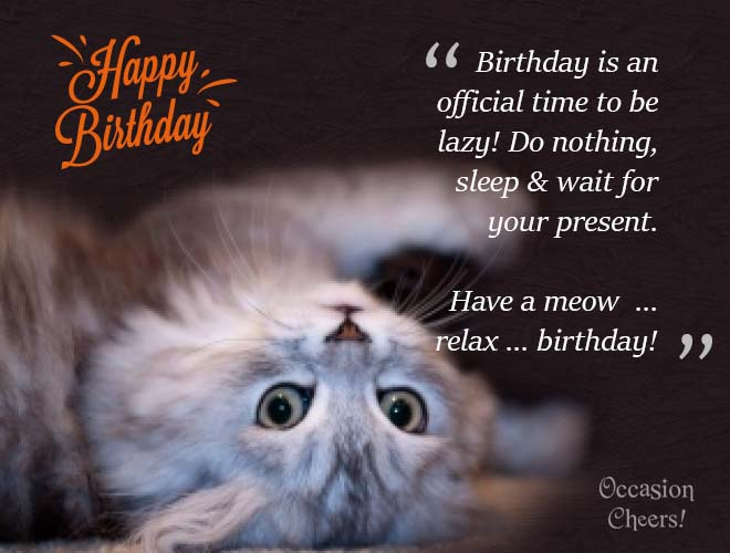 Cute Animals Birthday Wishes For Your Facebook Friends Animals Wishing Happy Birthday