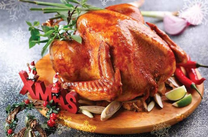 Roast-Christmas-Turkey-the butcher dog