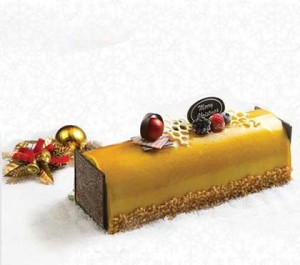 Ice Cream Christmas Log Cake Singapore