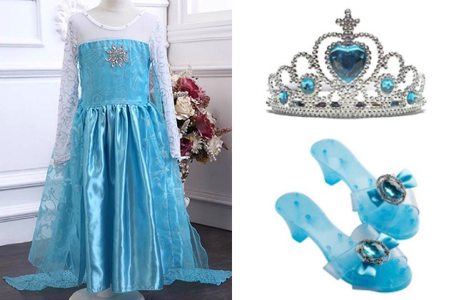 princess-dress-elsa-with-crown