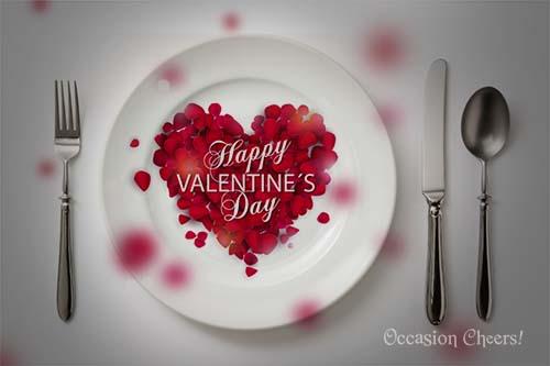Valentine's Day Set Dinner Menu 2015