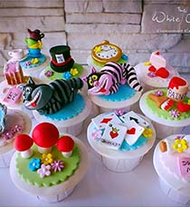 Cute Kid Birthday Cupcakes in Singapore with Delivery