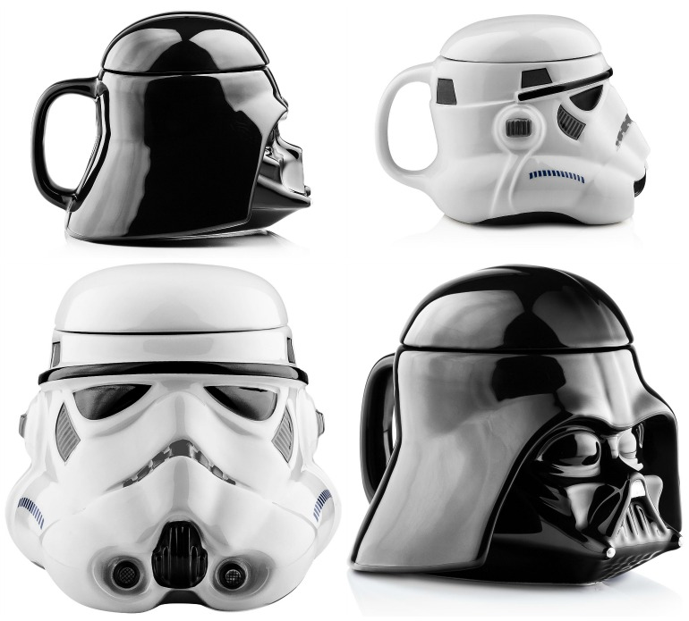Star wars christmas gifts ideas 2015 birthday party supplies christmas gifts ideas star wars black white mugs solutioingenieria Gallery