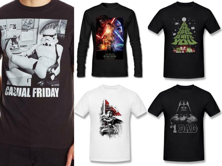 Star wars christmas gifts ideas 2015 birthday party supplies christmas gifts ideas star wars tshirts solutioingenieria Gallery