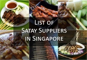 List of Satay Suppliers in Singapore